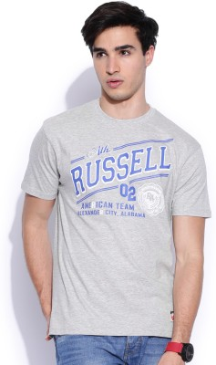 Russell Athletic Printed Men's Round Neck T-Shirt