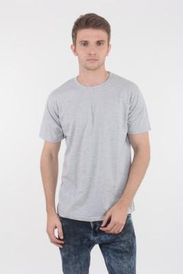 Escrow Solid Men's Round Neck T-Shirt
