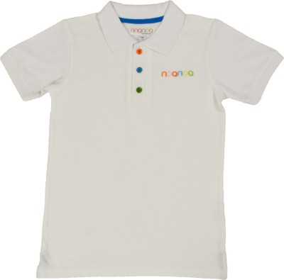 NOQNOQ Solid Boy's Polo Neck T-Shirt