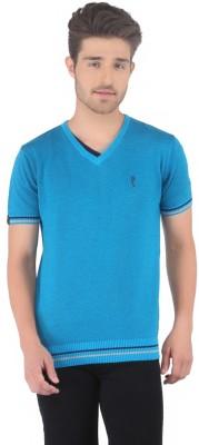 Stride Solid Men's V-neck T-Shirt