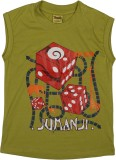 Toons Printed Boy's Round Neck T-Shirt