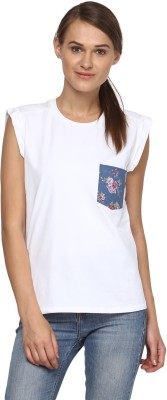 Annapoliss Printed Women's Round Neck Multicolor T-Shirt