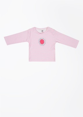 Magic Train Striped Round Neck T-Shirt