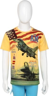 1st Attitude Printed Boy's Round Neck T-Shirt