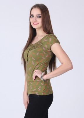 Remanika Printed Women's Round Neck T-Shirt
