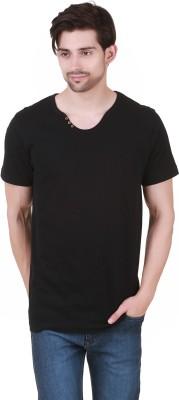Cherymoya Solid Men's V-neck T-Shirt