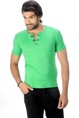 Magiq Self Design Men's Round Neck T-Shirt