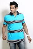 Design Classics Striped Men's Polo Neck ...