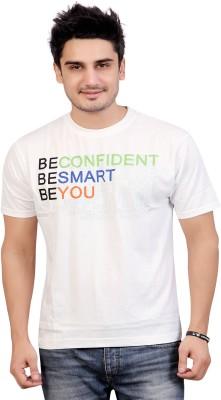 Stephen Armor Graphic Print Men's Round Neck White T-Shirt