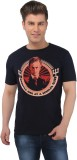 EETEE Printed Men's Round Neck Black T-S...