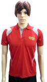 GKI Solid Men's Polo Neck T-Shirt