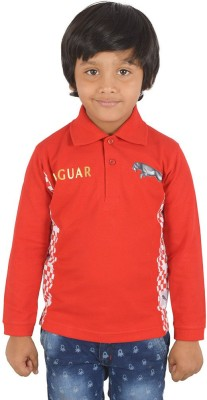 SPARK Solid Boy's Polo Neck T-Shirt