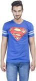 DC Comics Printed Men's Round Neck Blue ...