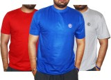 Laconic Solid Men's Round Neck T-Shirt