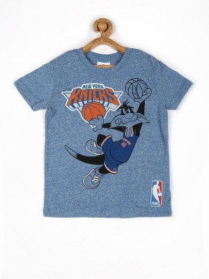 Fox Printed Boy's Round Neck T-Shirt