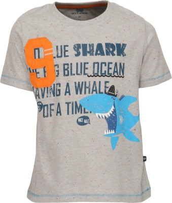 Bells and Whistles Printed Boy's Round Neck T-Shirt