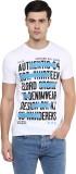 Elaborado Printed Men's Round Neck Rever...