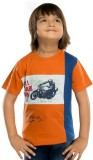 SETVEL Printed Boy's Round Neck T-Shirt