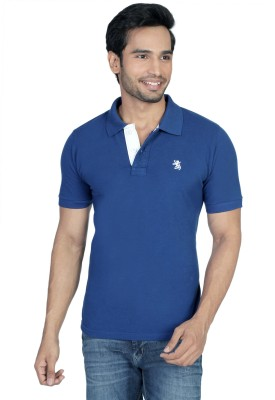 The Cotton Company Solid Men's Polo T-Shirt