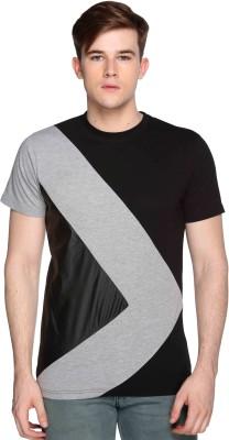 CLUB YORK Self Design Men's Round Neck Multicolor T-Shirt