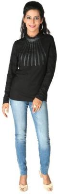 Remanika Solid Women's Round Neck T-Shirt