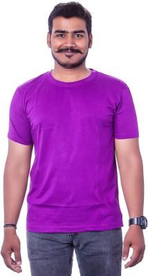 Colours99 Solid Men,s, Boy's Round Neck T-Shirt