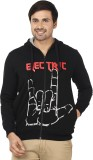 Ruse Printed Men's Hooded Multicolor T-S...