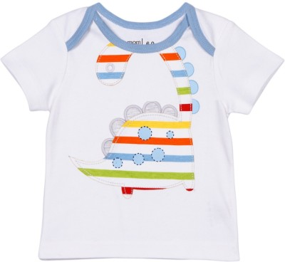Mom & Me Printed Baby Boy's Round Neck T-Shirt