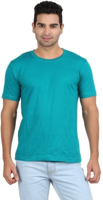 Goodtry Solid Men's Round Neck Multicolor T-Shirt