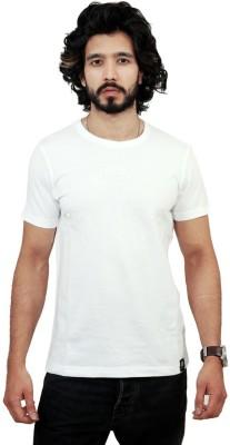 Men In Class Printed Men's Round Neck White T-Shirt