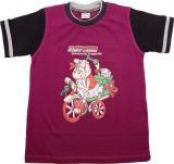 Hillman Printed Boy's Round Neck T-Shirt