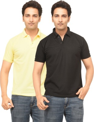 TSG Classe Deluxe Solid Men's Polo Neck Multicolor T-Shirt