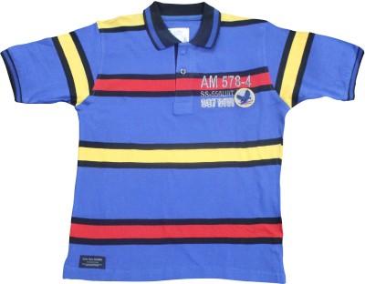 Mankoose Solid Boy's Round Neck T-Shirt