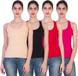 2Day Solid Women's Round Neck Multicolor...