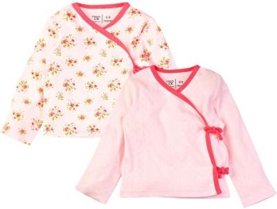Mom & Me Printed Baby Girl's V-neck T-Shirt