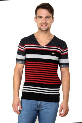 Zeco Woven Men's Polo Neck T-Shirt