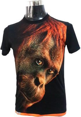 Zeroline Printed Men's Round Neck T-Shirt