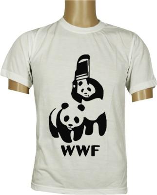 Budding Prints Solid Men's Round Neck T-Shirt