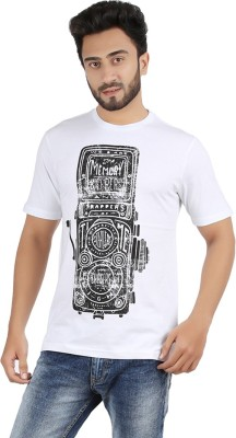 Checkersbay Printed Men's Round Neck T-Shirt