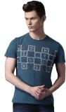 WROGN Printed Men's Round Neck Multicolo...