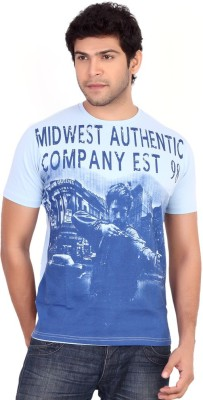 Globalepartner Printed Men's Round Neck T-Shirt