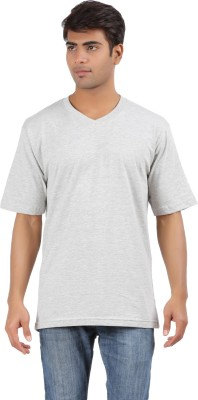 Crystal Solid Men's V-neck T-Shirt