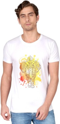 Desi Chowk Printed Men's Round Neck T-Shirt