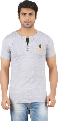 Togswear Embroidered Men's Henley T-Shirt