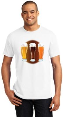 Shoper Shop Printed Men's Round Neck T-Shirt