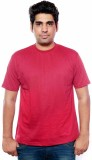Golden valley Solid Men's Round Neck Red...