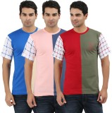 UV2 Printed Men's Round Neck Multicolor ...