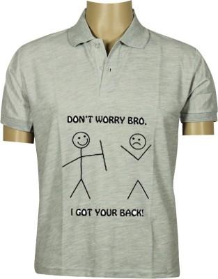 Budding Prints Solid Men's V-neck T-Shirt
