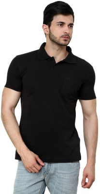 Cotton County Premium Solid Men's Flap Collar Neck T-Shirt