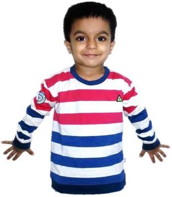 Urbanitas Striped Boy's Round Neck T-Shirt